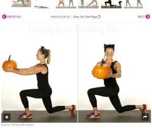 pumpkin workout