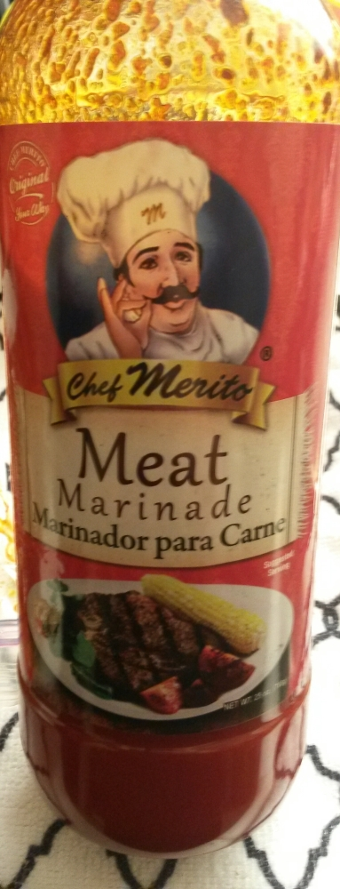 Test Kitchen - Chef Merito Meat Marinade (1/4)