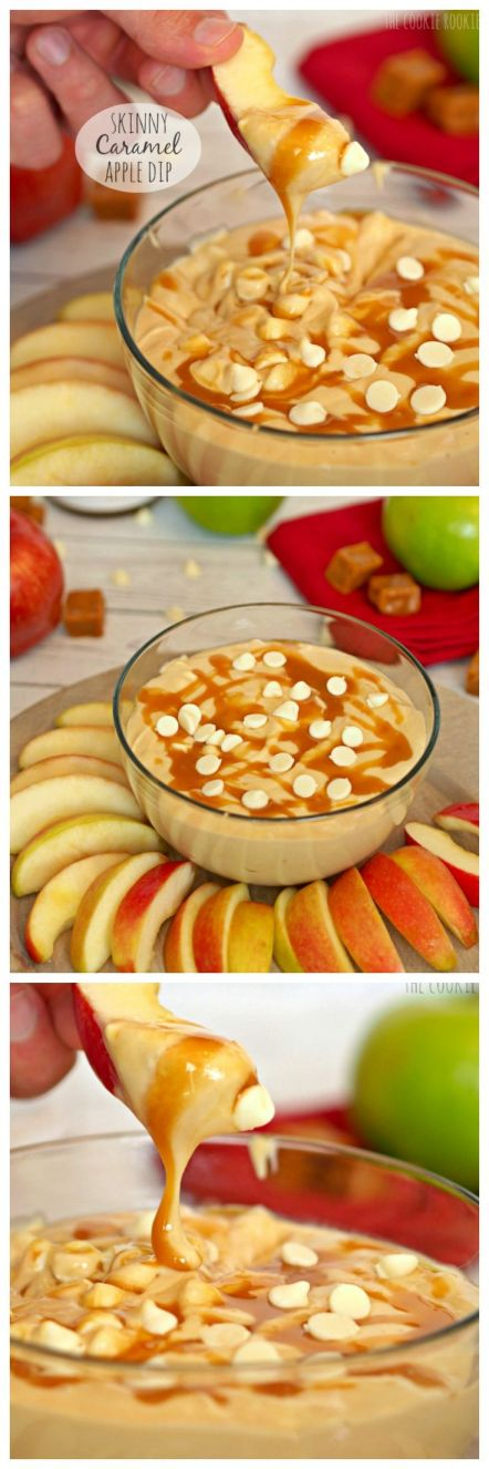 skinny caramel apple dip